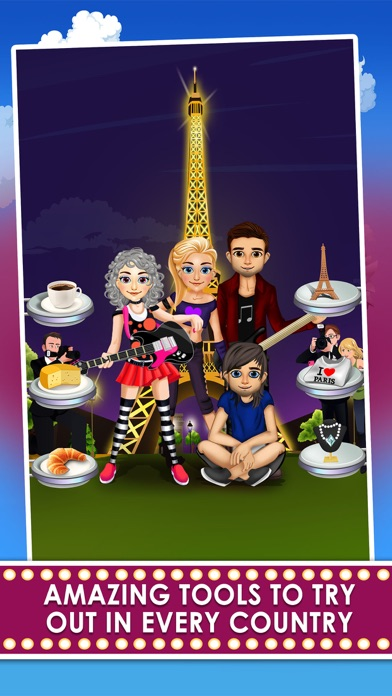 Celebrity Girl Fashion Salon Tour - dress up spa & hair makeover games for kids! free Resources hack