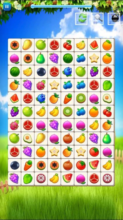 水果连连看 - 水果&蔬菜快乐消除单机小游戏