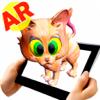 AR填色本- AR ARKids - 與增強現實效果著色. 虛擬現實 3D VR 兒童教育. 增强现实 app