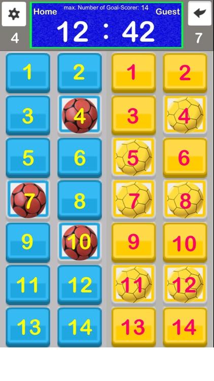 Handball Multiply Scoreboard screenshot-4