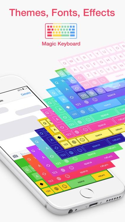 Magic Keyboard - Custom themes and emoji emoticons