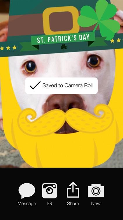 LuckLuckLuck - St Patricks Irish Pride Everyday FREE Photo Stickers screenshot-4