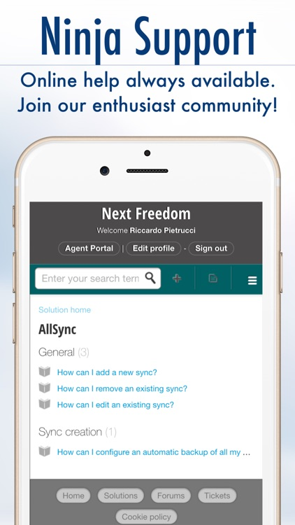 AllSync 2 - Rich Contacts Everywhere screenshot-4