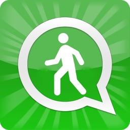 Walk & Chat for WhatsApp