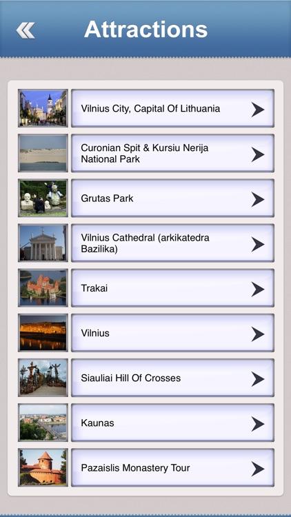 Lithuania Offline Travel Guide