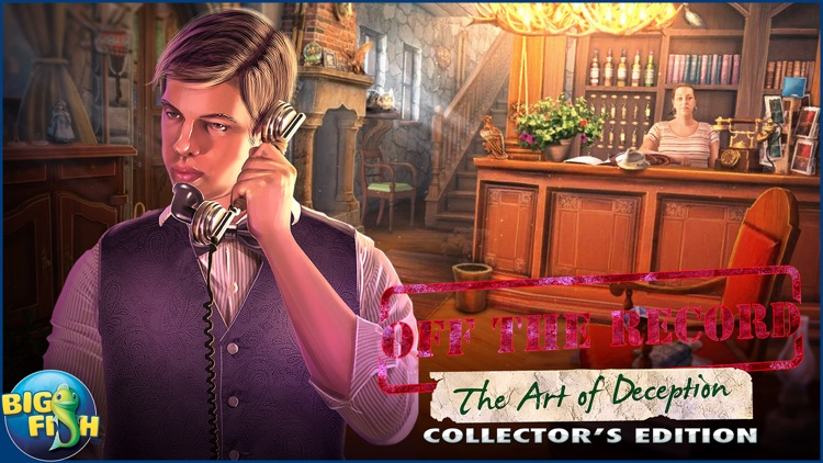 Off The Record: The Art of Deception - A Hidden Object Mystery screenshot-4
