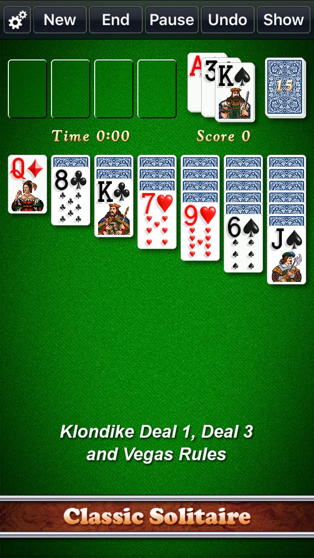 Screenshot #6 for Solitaire City Classic