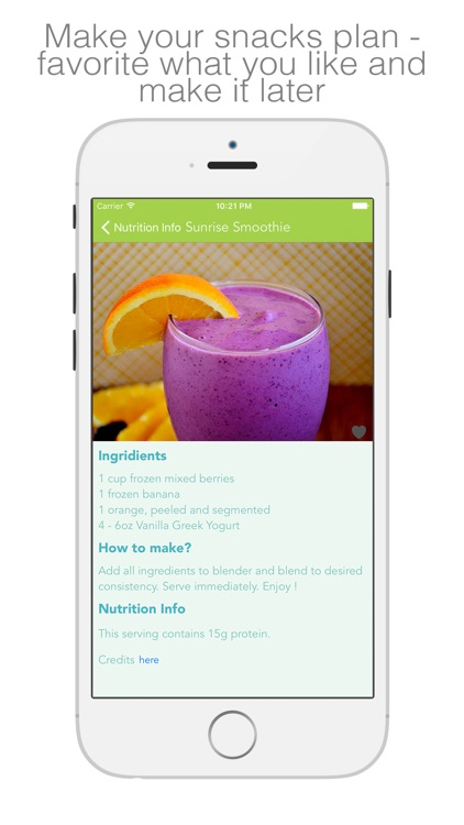 Protein Smoothies - smoothies & shakes for healthy living screenshot-2