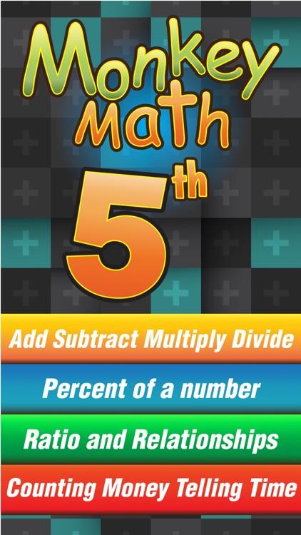 Fifth Grade Math Curriculum Monkey School Free game for kids ...
