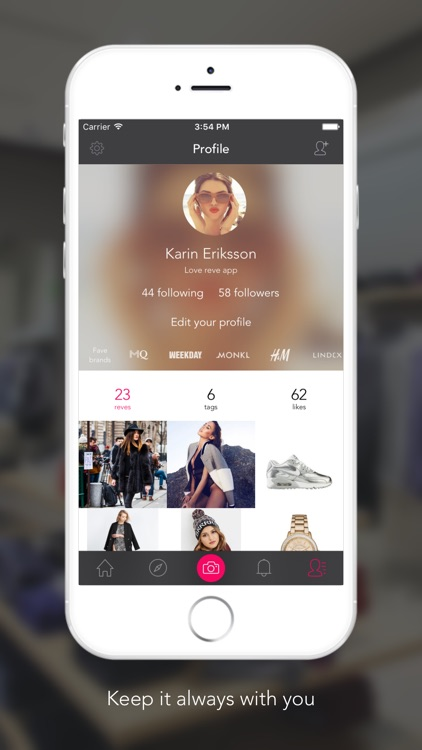 reve - Personalized fashion & smart shopping screenshot-4