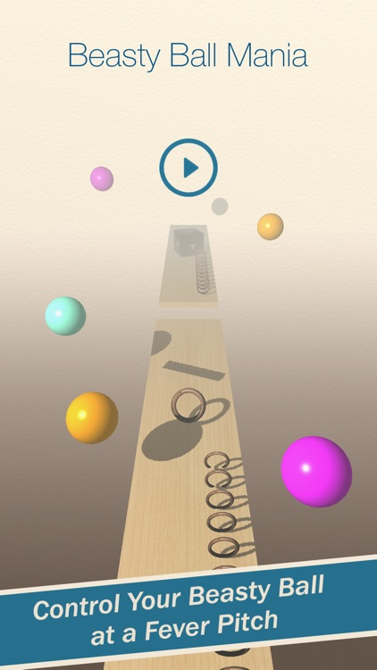 Beasty Ball Mania - A 3D Physics Based Endless Runner / Platformer Marble Rolling Dash screenshot-4