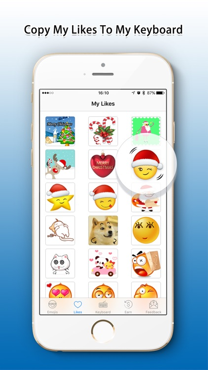 Emoji Added - Sticker with Christmas,Santa,Holiday screenshot-3