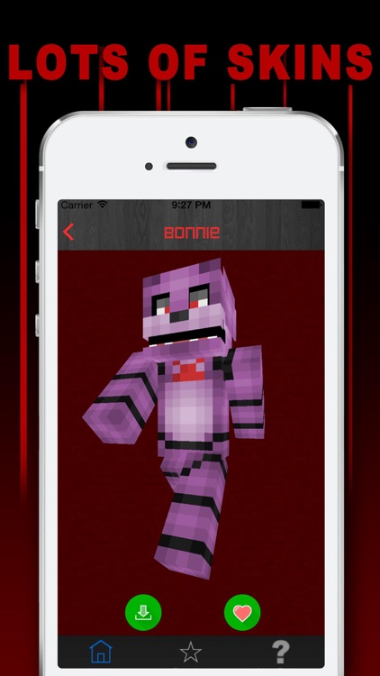 Free Skins for Minecraft PE (Pocket Edition)- Newest Skin for FNAF screenshot-3