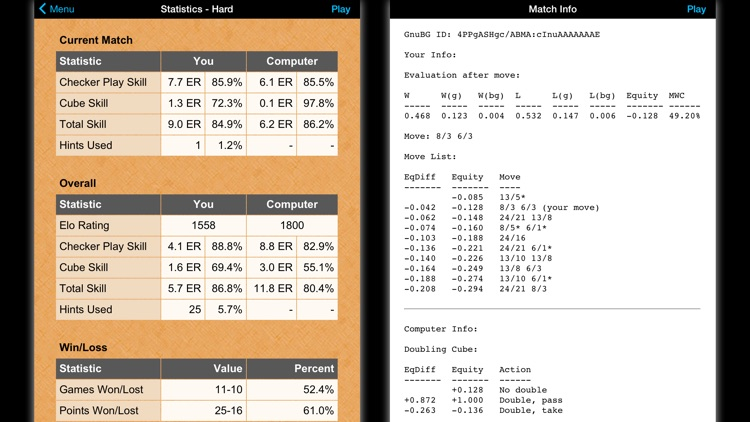 Backgammon NJ HD screenshot-3