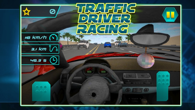 Traffic Driver Racing FREE screenshot-0