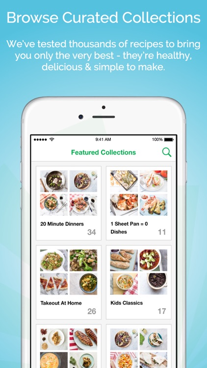 Gatheredtable - Customized weekly menus and smart grocery lists