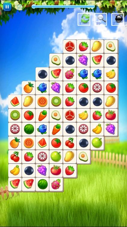 水果连连看 - 水果&蔬菜快乐消除单机小游戏 screenshot-3