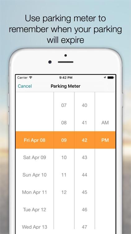 Follow My Car Pro - Car Finder, Car Locator, Augmented reality and Parking Meter Alarm screenshot-4
