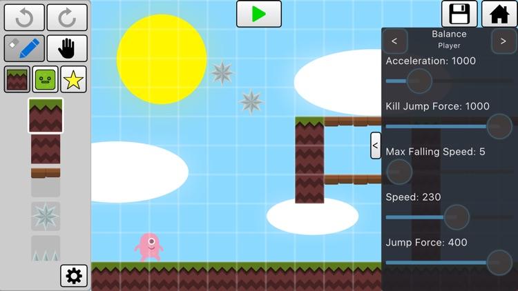 V-Play Level Editor for Platformers
