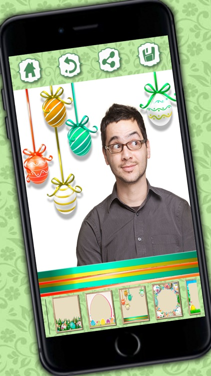 Photo editor of Easter Raster - camera to collage holiday pictures in frames screenshot-3
