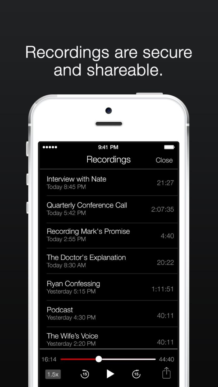 TapeACall Lite: Call Recorder Screenshot