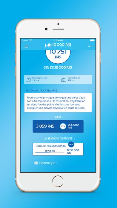 10000 pas, le défi pour la vie screenshot three