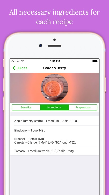 Detox Healthy Juice Recipes screenshot-3