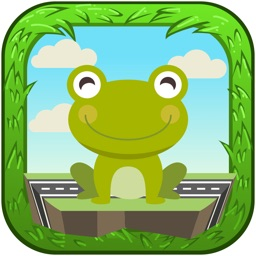 Crazy Frog Jumping - Cross The Road New Challenge