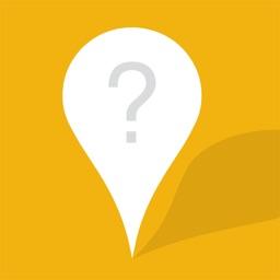 Secret tourist attraction information sharing map