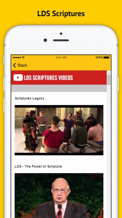 LDS Scriptures - Books and Secrets screenshot-3