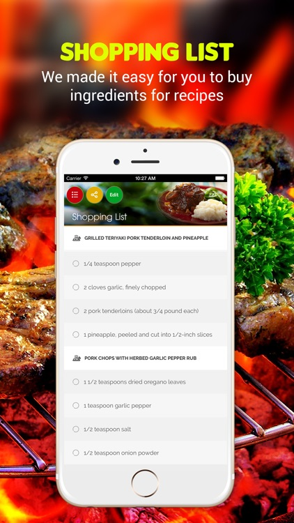 Grilling Recipes Pro screenshot-2