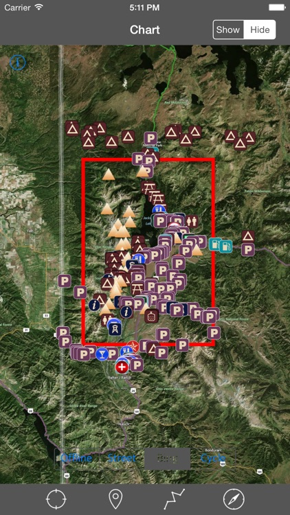 Grand Teton National Park – GPS Offline Park Map Navigator screenshot-4