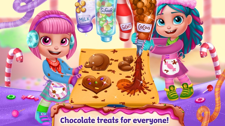 Chocolate Candy Party screenshot-4