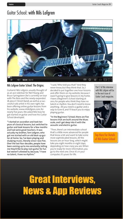 Guitar Coach Magazine. Learn & Play Guitar screenshot-3