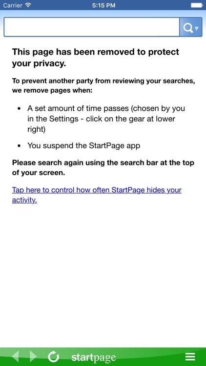 StartPage Search screenshot-4