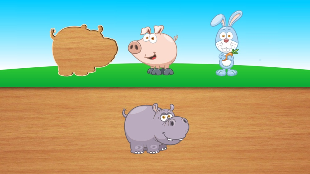 Cute puzzles for kids - toddlers educational games and children's preschool learning hack tool