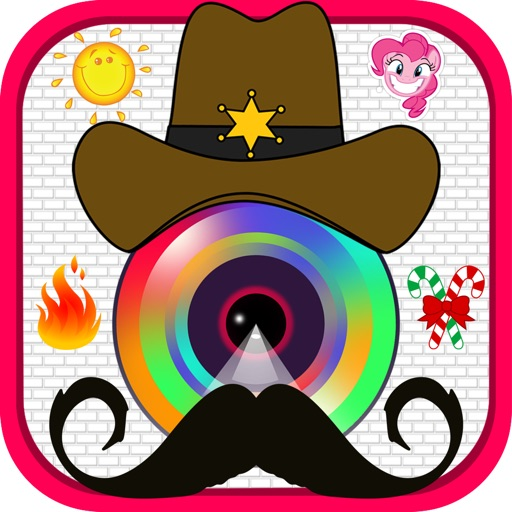 Cute Photos Sticker Creator - Selfie Picture Booth with Cool Stickers & Collage Frames Editor