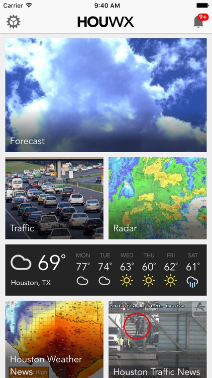 HOU wx: Houston Weather Forecast, Radar & Traffic
