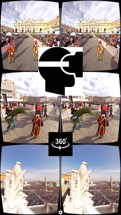 VR Virtual Reality press360 First Palm Sunday with Pope Francis screenshot-0