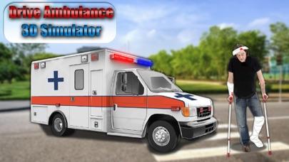Drive Ambulance 3D Simulator screenshot two