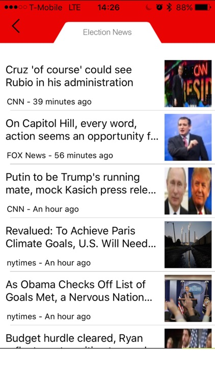 2016 US Presidential Election App - Real Politics News screenshot-4