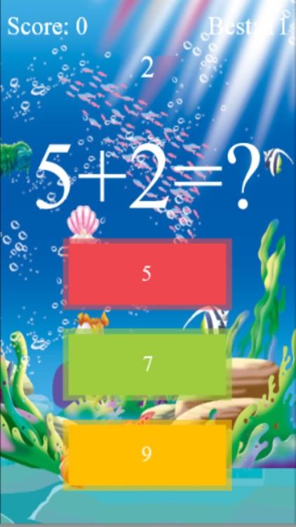 Crazy Math Game On Time screenshot-4