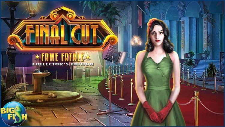 Final Cut: Fame Fatale - A Hidden Object Adventure screenshot-4