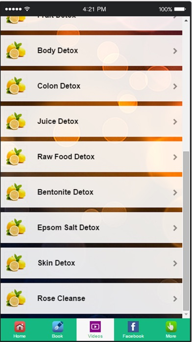 Detox Cleanse - Simple & Natural Ways to Detox Your Body screenshot one