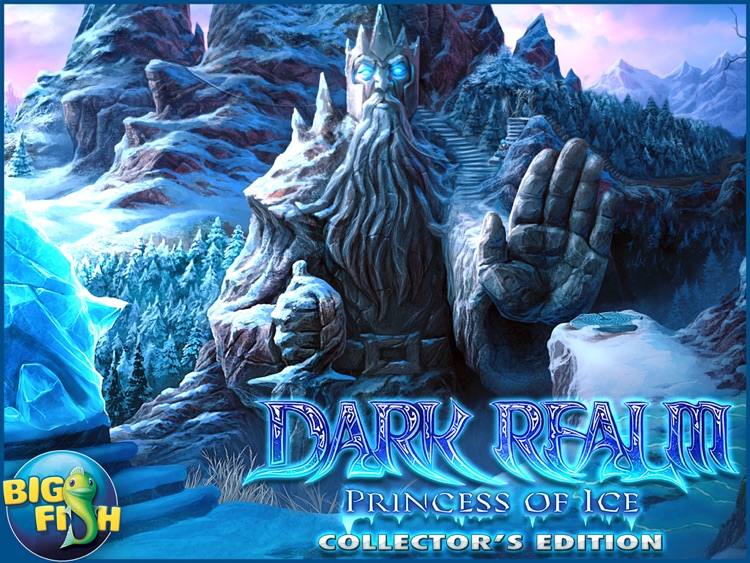 Dark Realm: Princess of Ice HD - A Mystery Hidden Object Game screenshot-4