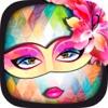 威尼斯狂欢节面具 – 脸部假面装饰贴纸照片编辑处理相机