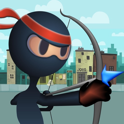 Archer Ninja Master - Bow And Arrow Target Practice Game icon
