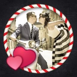 Pimp Frames On My Romantic Photo For Valentine's Day