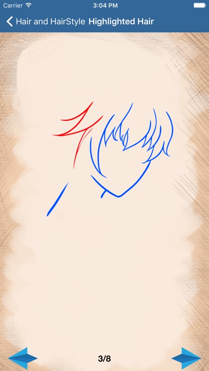 Artist Blue - How to draw Hairdo and Hairstyle screenshot-4