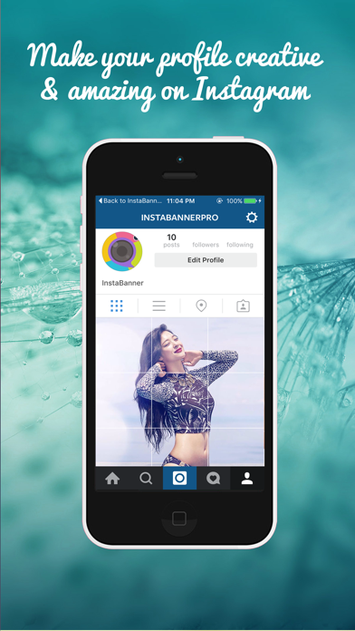 IGGrids –  Crop Your Photos In Banners / Tiles For Instagram Profile View screenshot one